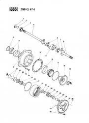 580 G 4*4 Modèle CARRARO