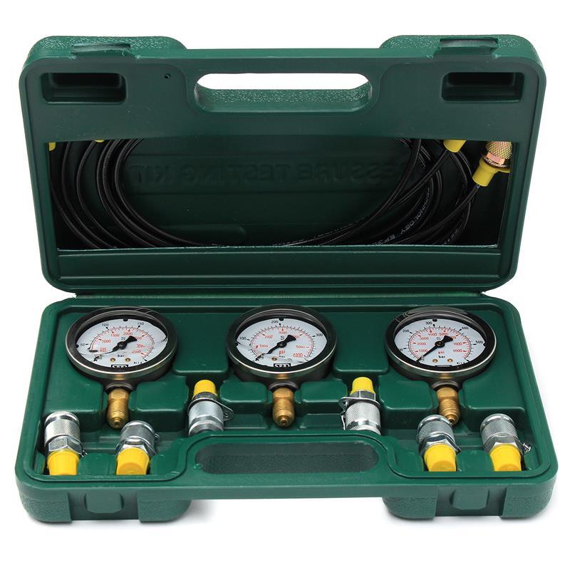 contrôle de pression hydraulique