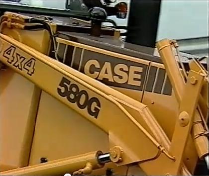 case 580 g tout neuf